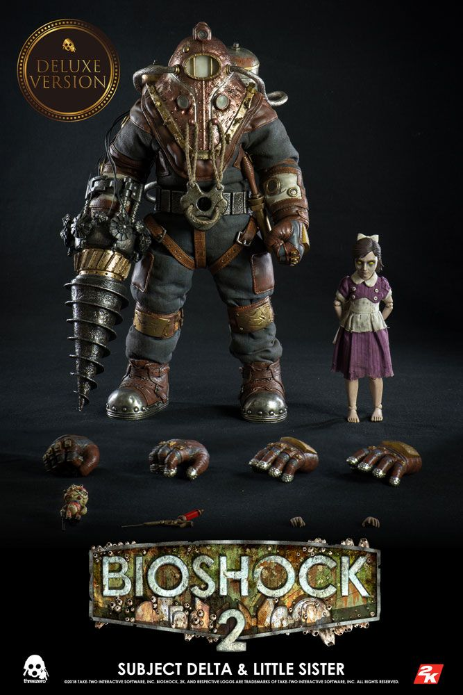 BioShock Action Figure 2-Pack 1/6 Subject Delta & Little Sister Deluxe Vers