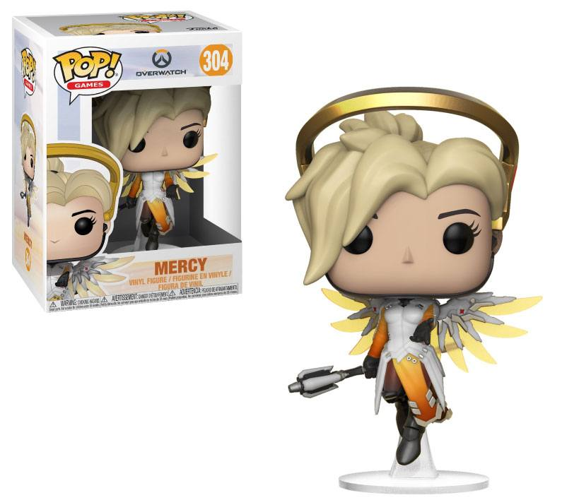 Overwatch POP! Games Vinyl Figure Mercy 10 cm