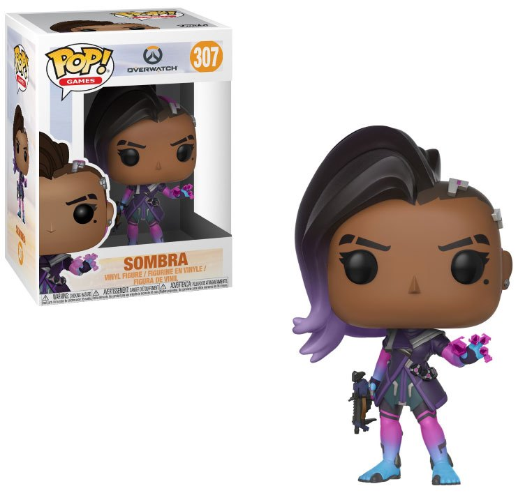 Overwatch POP! Games Vinyl Figure Sombra 10 cm