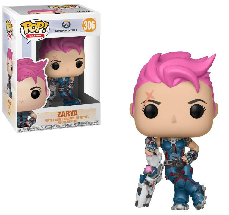 Overwatch POP! Games Vinyl Figure Zarya 10 cm