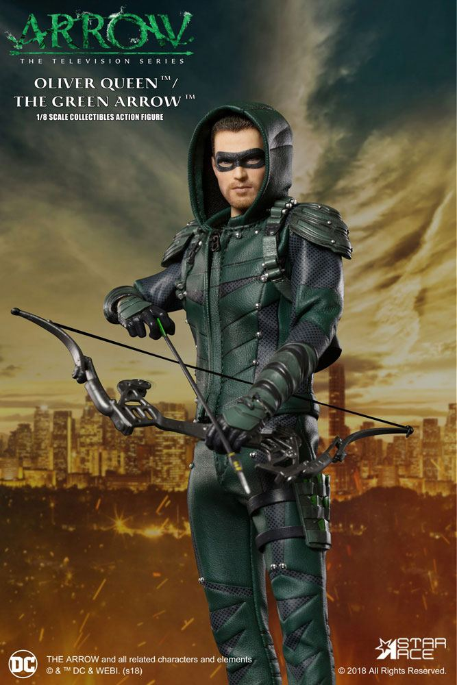 Arrow Real Master Series Action Figure 1/8 Green Arrow 23 cm