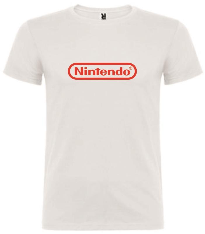 T-Shirt Nintendo Logo Tamanho M