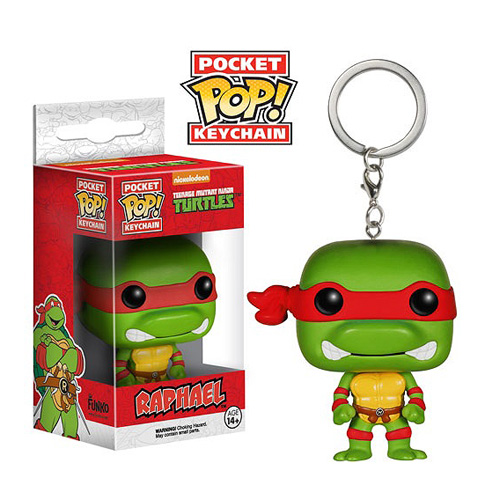 Pop! Cartoons: Pocket Pop! Keychain Teenage Mutant Ninja Turtles Raphael