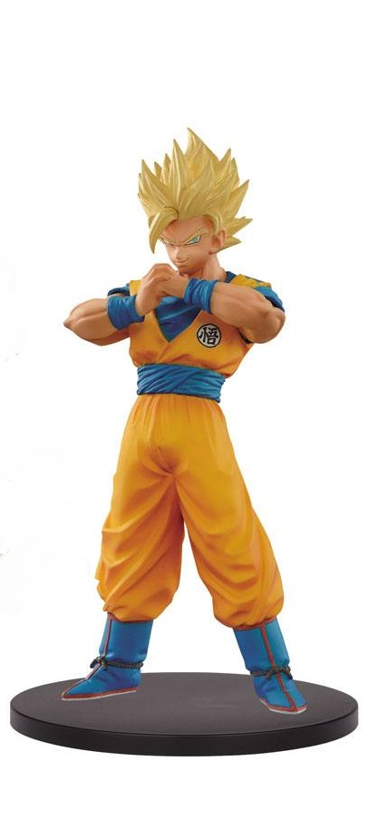 Dragonball Super Warriors DXF Figure SSJ 2 Goku 18 cm