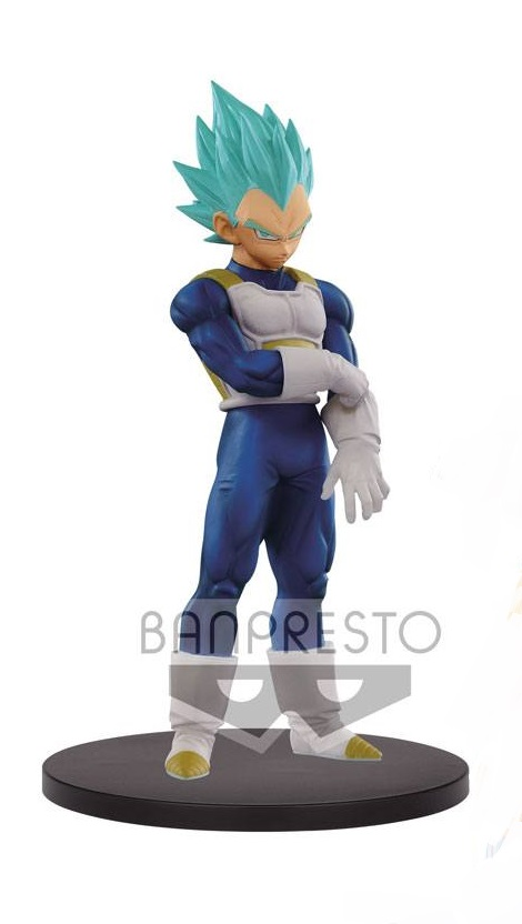 Dragonball Super Warriors DXF Figure Blue Vegeta 18 cm