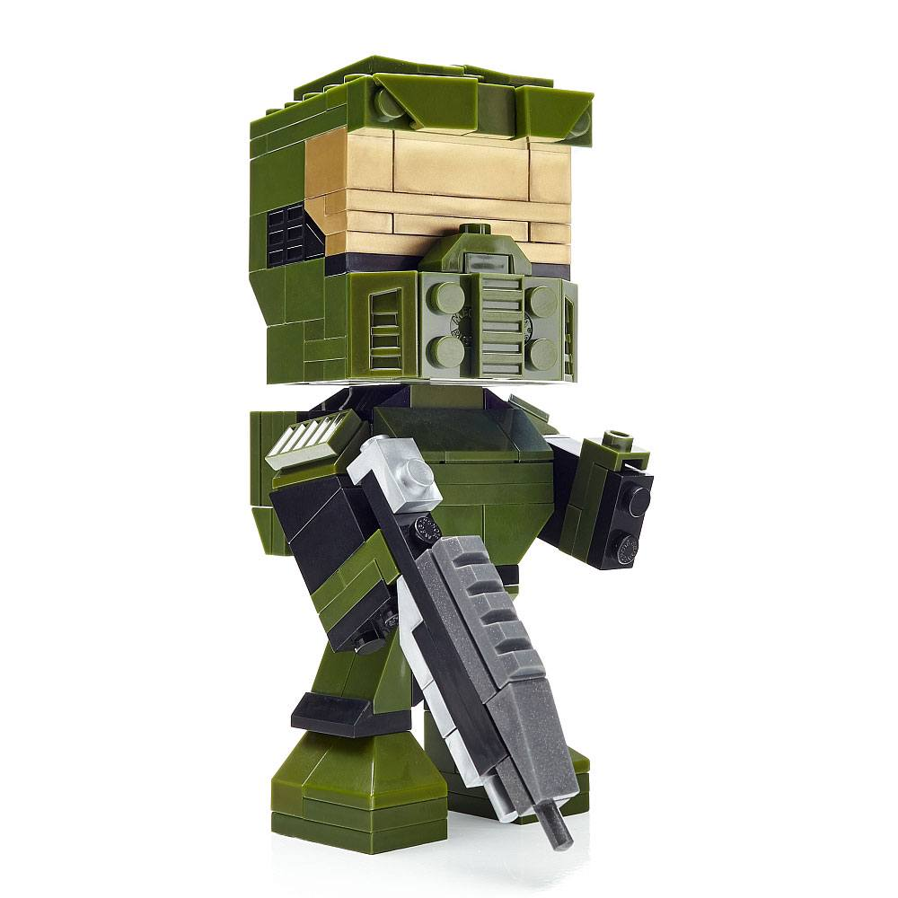 Halo Mega Construx Kubros Construction Set Master Chief 14 cm
