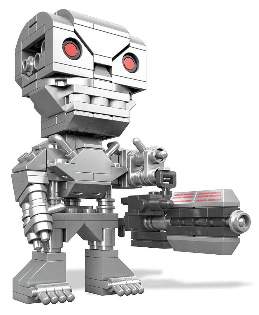 Terminator Genisys Mega Construx Kubros Construction Set T-800 Terminator