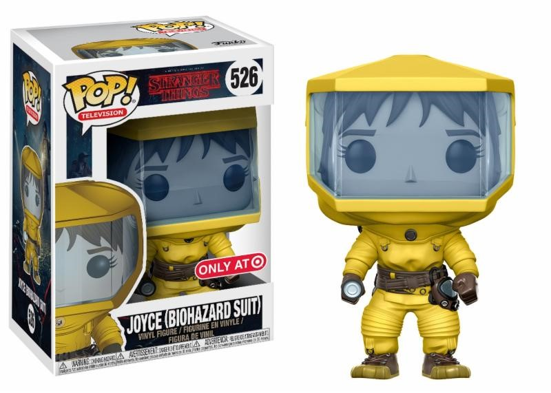 Pop! TV: Stranger Things - Joyce in Bio Hazard Suit Limited Edition 10 cm