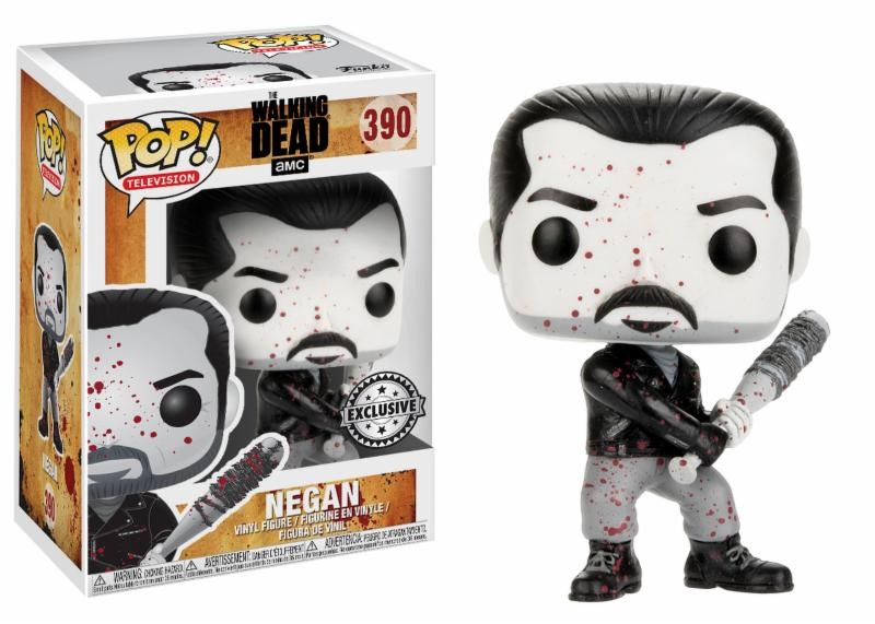 Pop! TV: The Walking Dead - Negan Black and White Limited Edition 10 cm