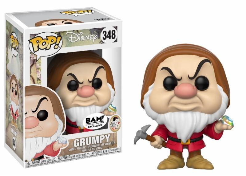 Pop! Disney: Snow White - Grumpy with Diamond Pick Limited Edition 10 cm