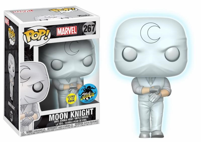 Pop! Marvel: Moon Knight GitD Bobblehead Limited Edition Vinyl Figure 10 cm