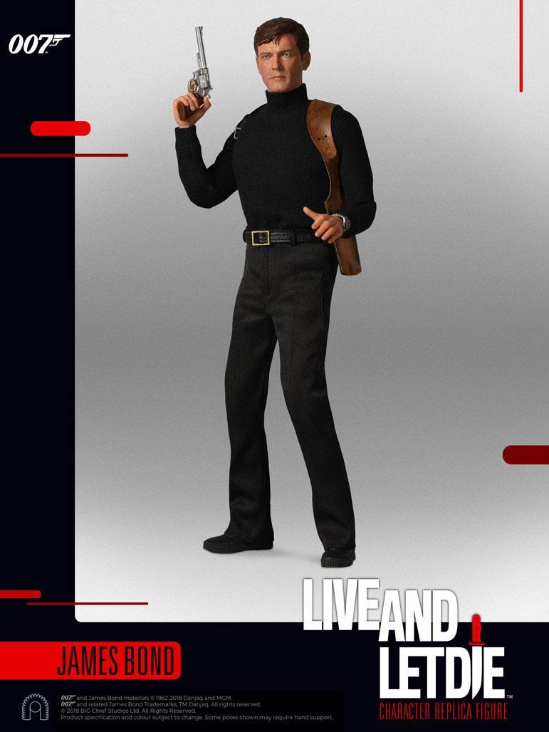 James Bond Live and Let Die Collector Figure Series AF 1/6 James Bond 30 cm