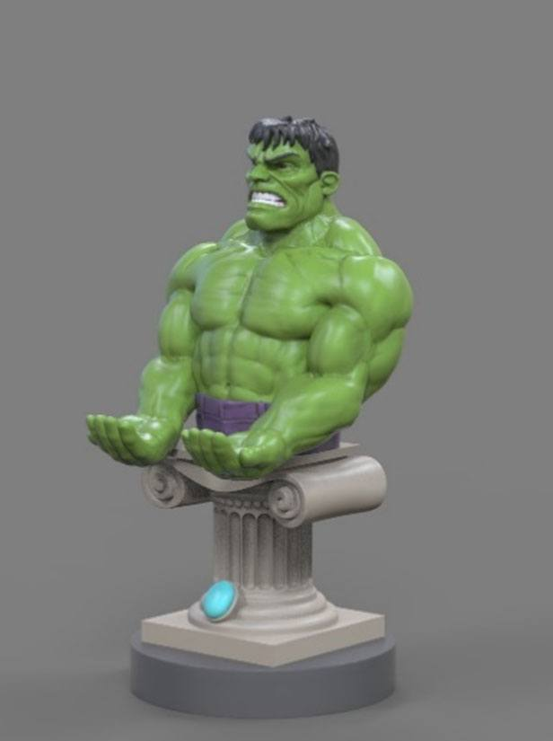 Avengers Infinity War Cable Guy Hulk 20 cm