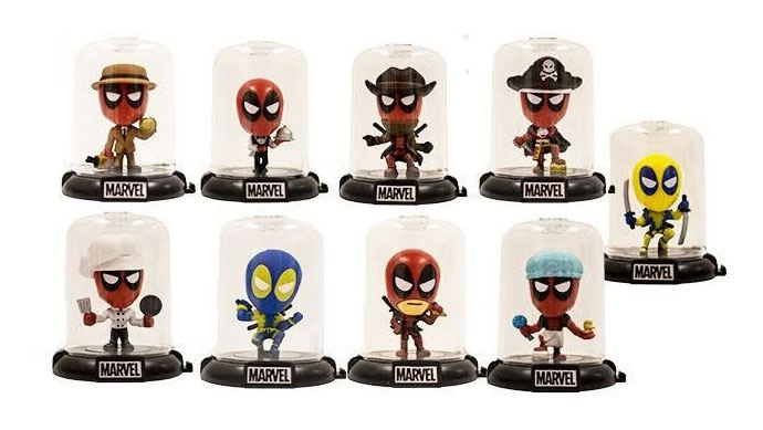 Deadpool Domez Mini Figures 7 cm Series 2