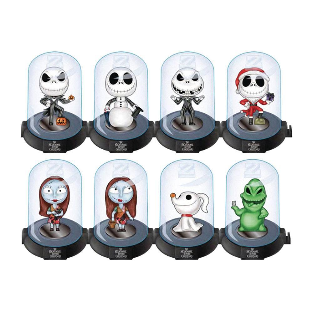 Nightmare Before Christmas Domez Mini Figures 7 cm Series 1