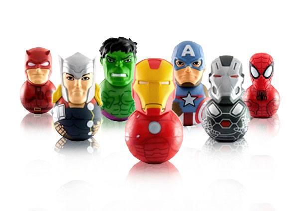 Marvel Rockerz Mini Figures 6 cm Series 1