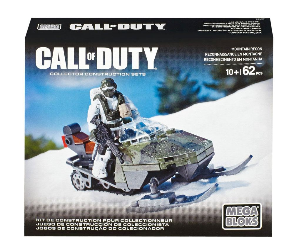 Call of Duty Mega Bloks Construction Set Mountain Recon