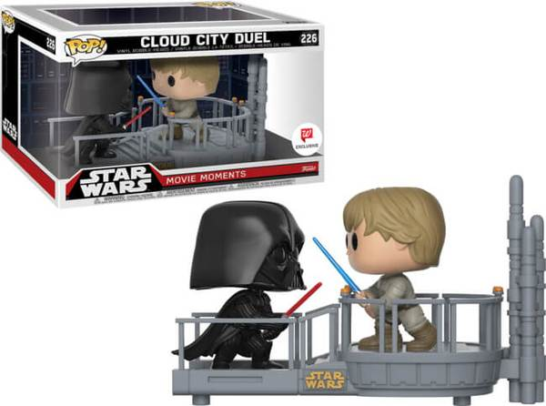 Star Wars POP! Movie Moments Vinyl Bobble-Head 2-Pack Cloud City Duel 10 cm
