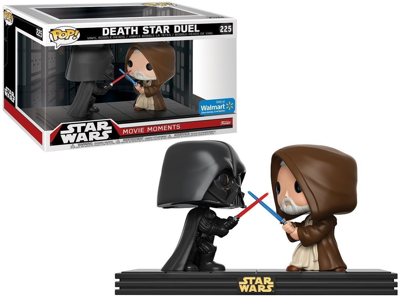 Star Wars POP! Movie Moments Vinyl Bobble-Head 2-Pack Death Star Duel 10 cm