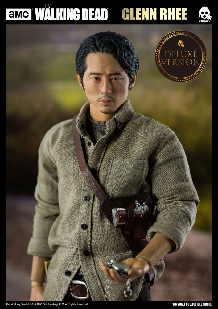 The Walking Dead Action Figure 1/6 Glenn Rhee Deluxe Version 29 cm