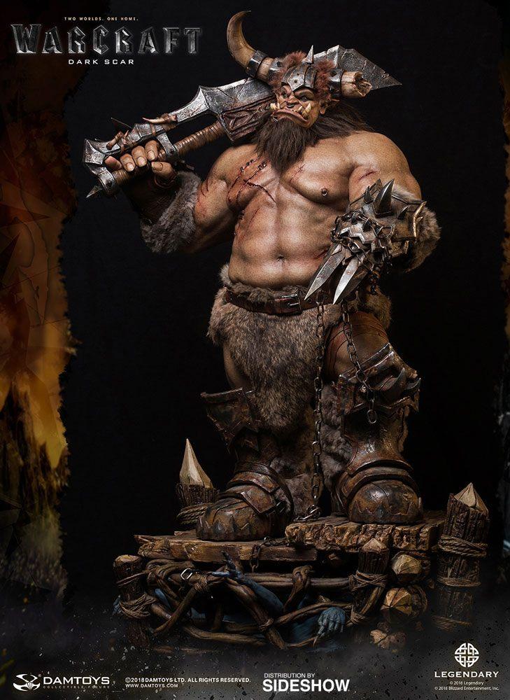 Warcraft Epic Series Premium Statue Dark Scar 77 cm