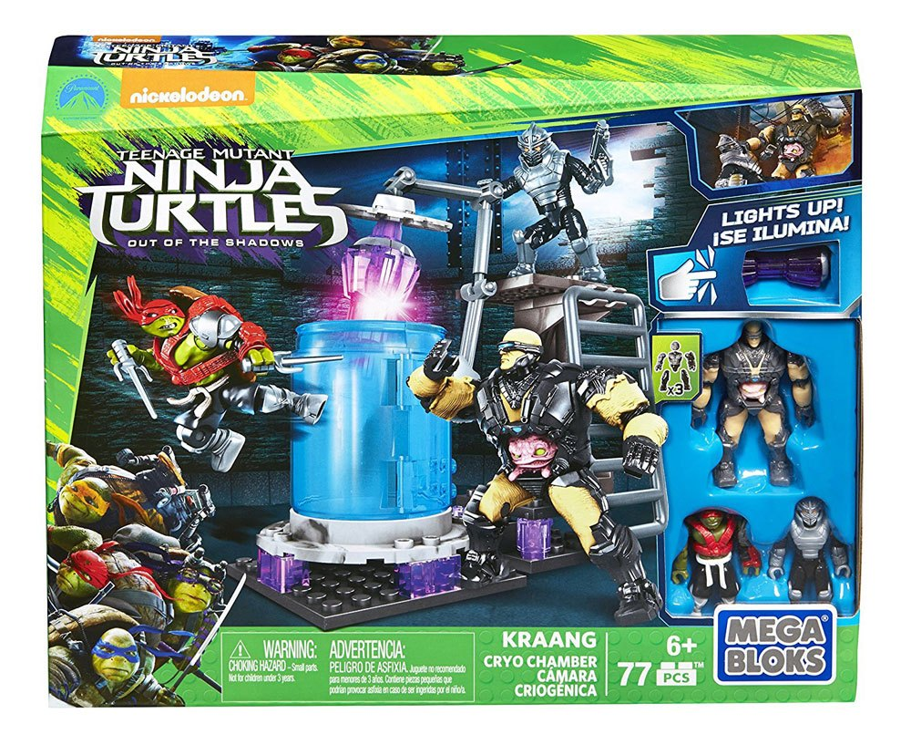 Teenage Mutant Ninja Turtles Mega Bloks Construction Set Kraang Cryo Chambe