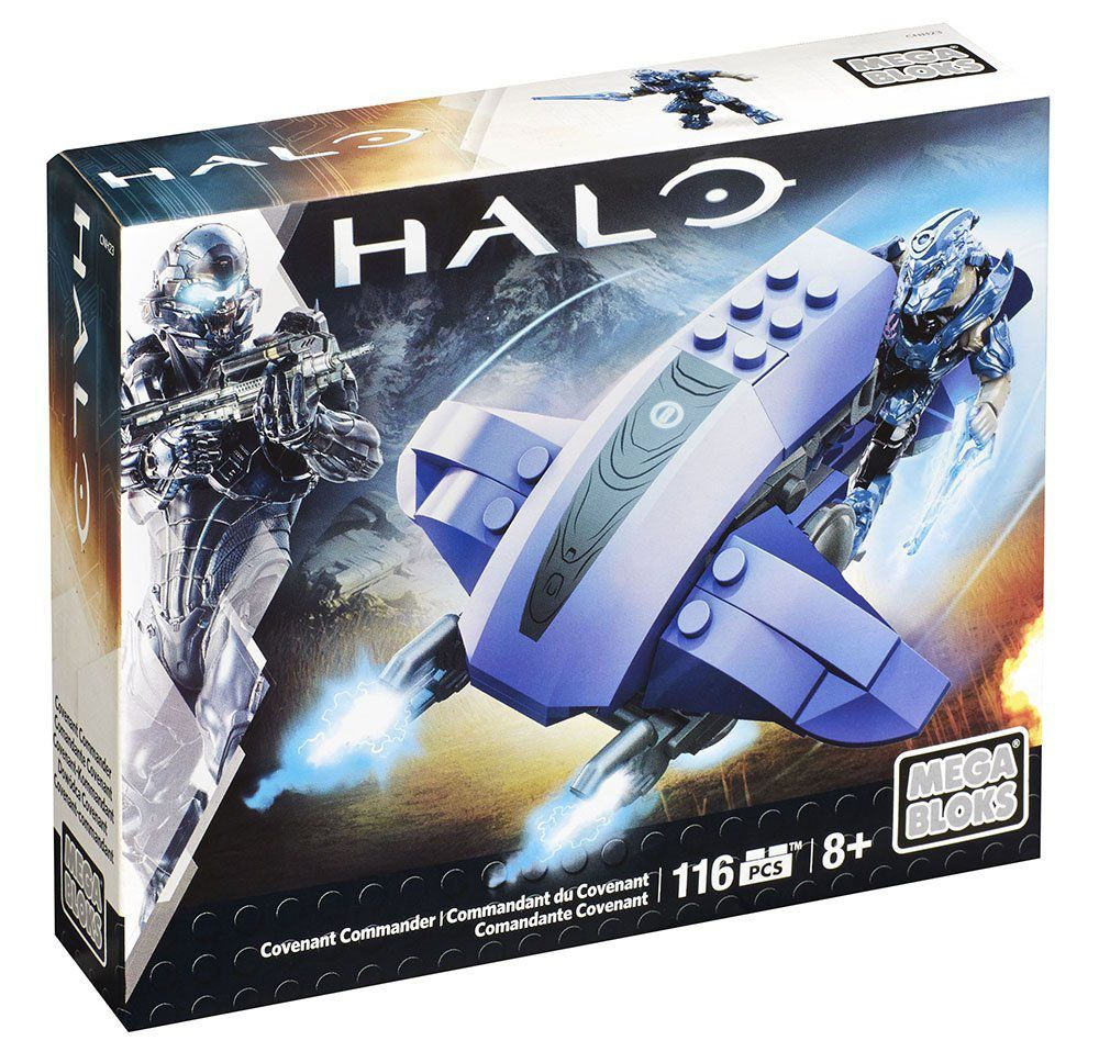Halo Mega Bloks Construction Set Covenant Commander