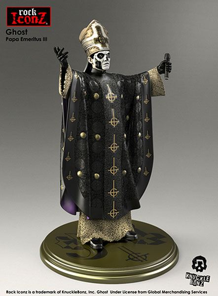 Ghost Papa Rock Iconz Statue 22 cm