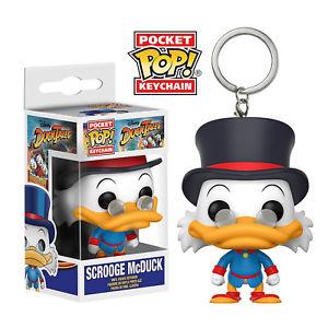 Pocket Pop Keychain! Disney: Duck Tales - Scrooge McDuck Vinyl Figure