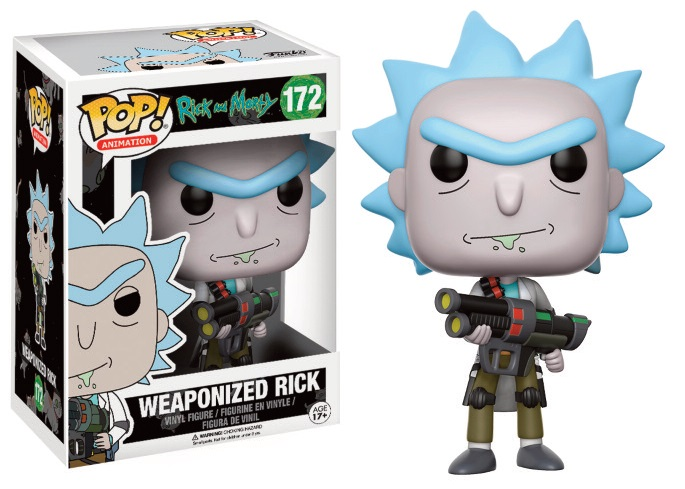 Pop! Cartoons: Rick and Morty - Weaponized Rick Vinyl Figure 10 cm