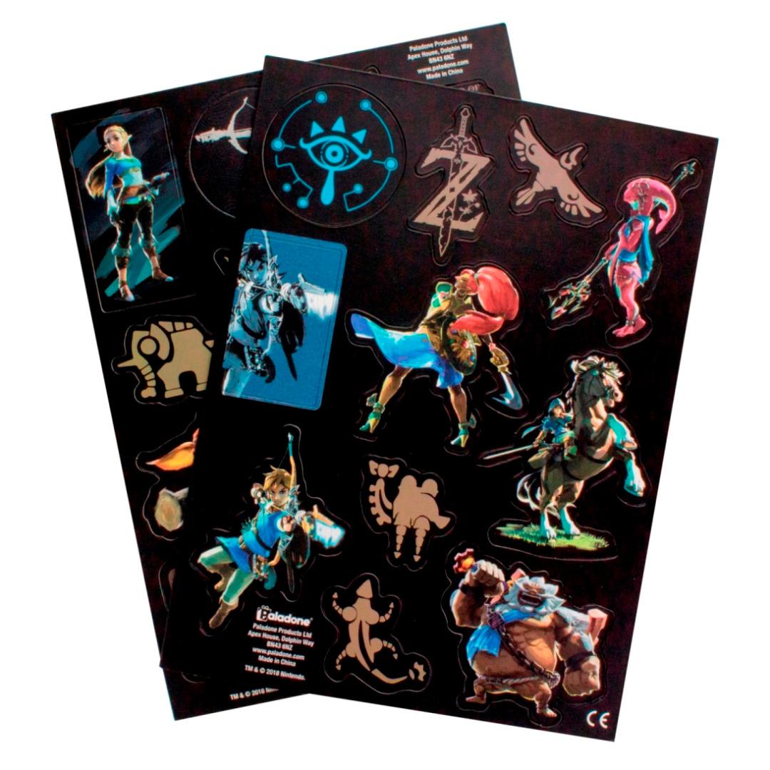 Conjunto de 21 Imans Legend of Zelda Breath of the Wild Fridge Magnets