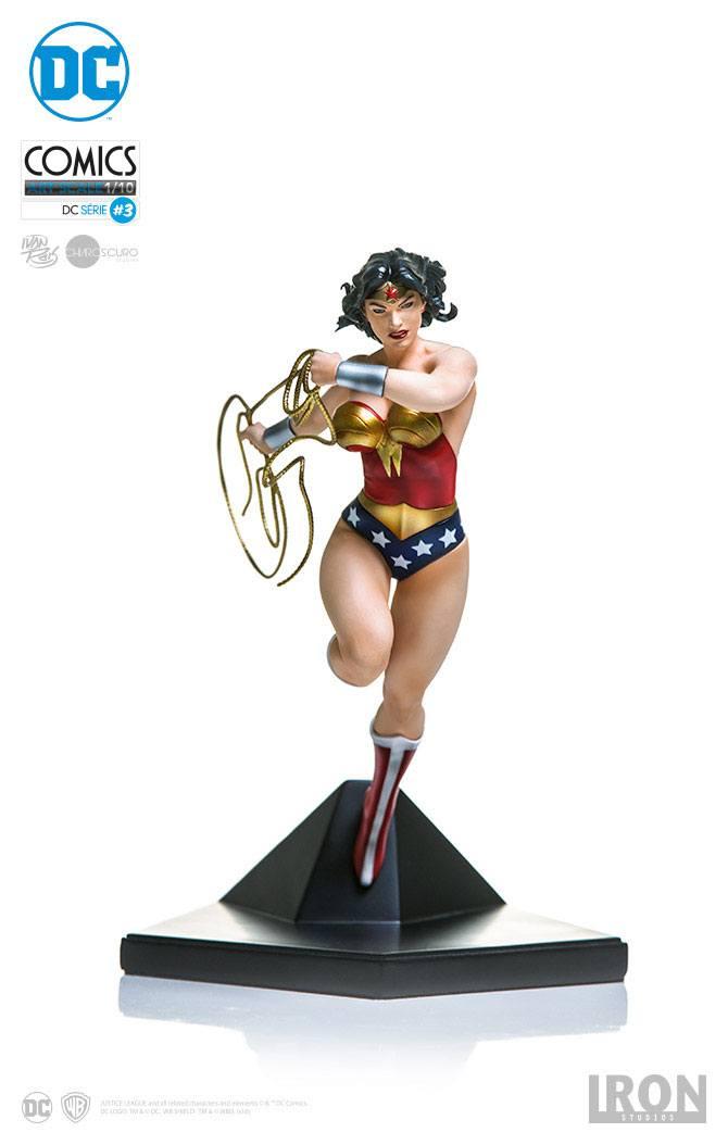 DC Comics Art Scale Statue 1/10 Wonder Woman by Ivan Reis 19 cm