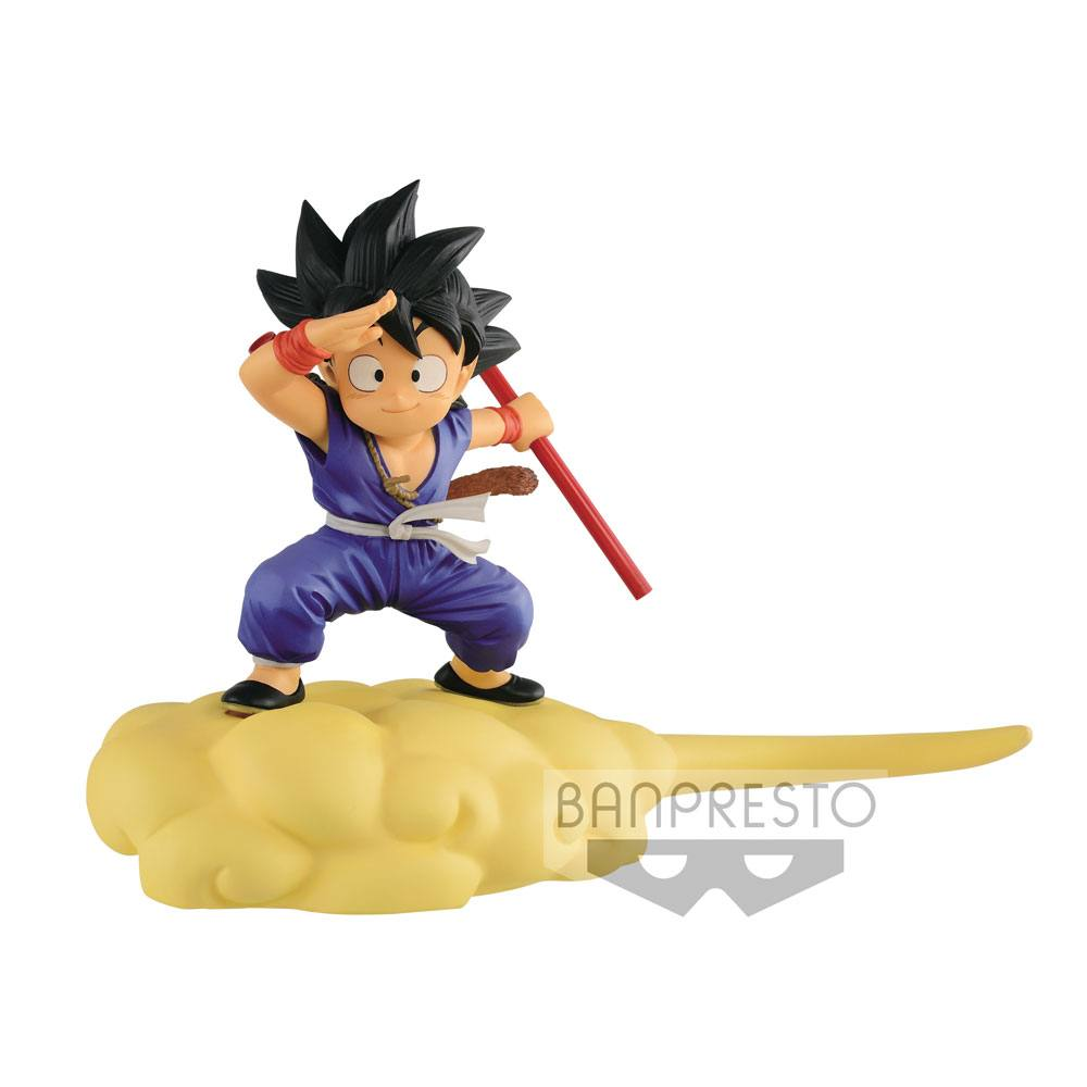 Dragonball Kintoun Figure Son Goku on Flying Nimbus Special Color Ver 13 cm