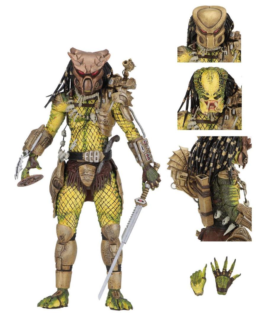 Predator 1718 Action Figure Ultimate Elder: The Golden Angel 21 cm