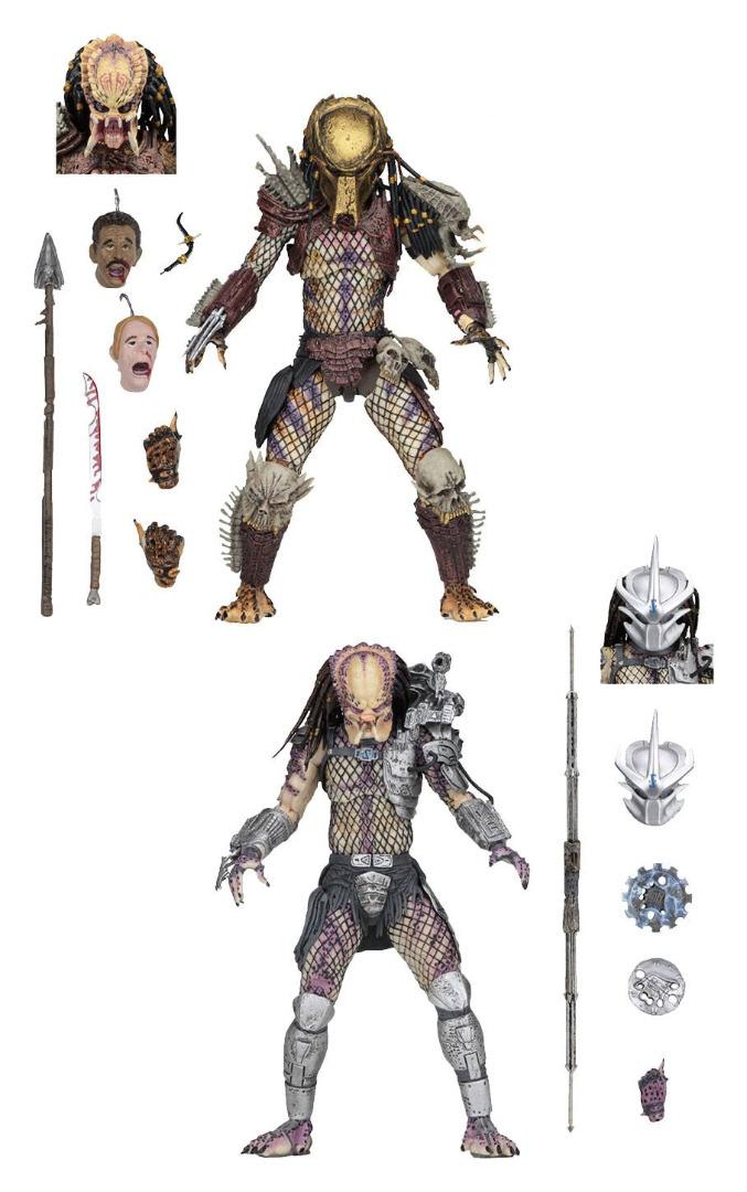 Predator Bad Blood Action Figure 2-Pack Ultimate Bad Blood & Enforcer 20 cm