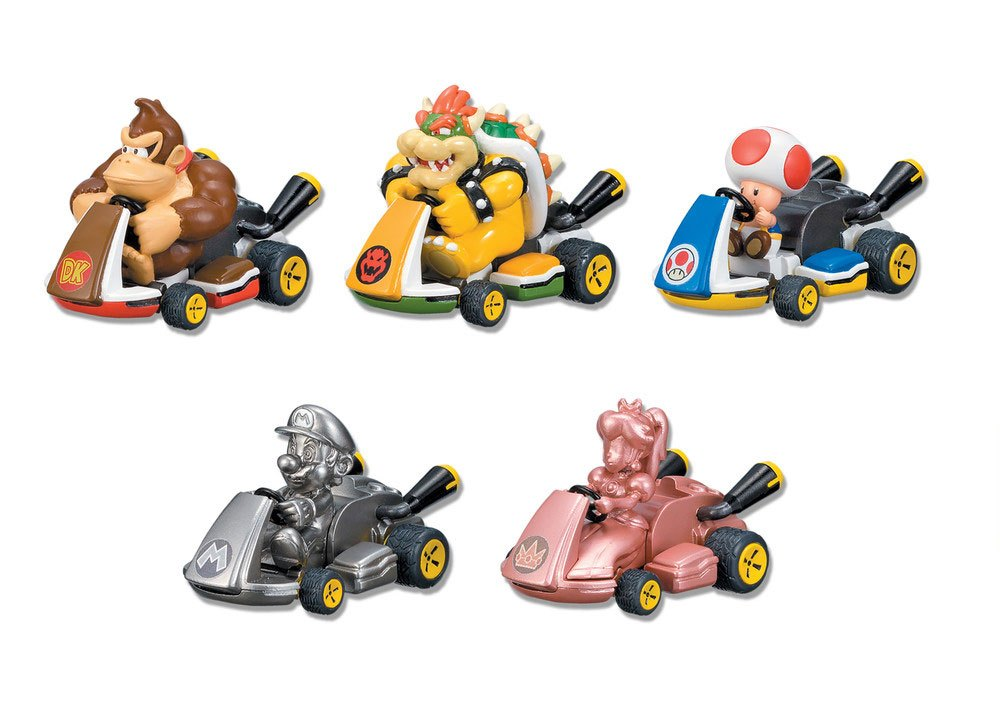 Mario Kart 8 Pull Back Cars Surprise Blister