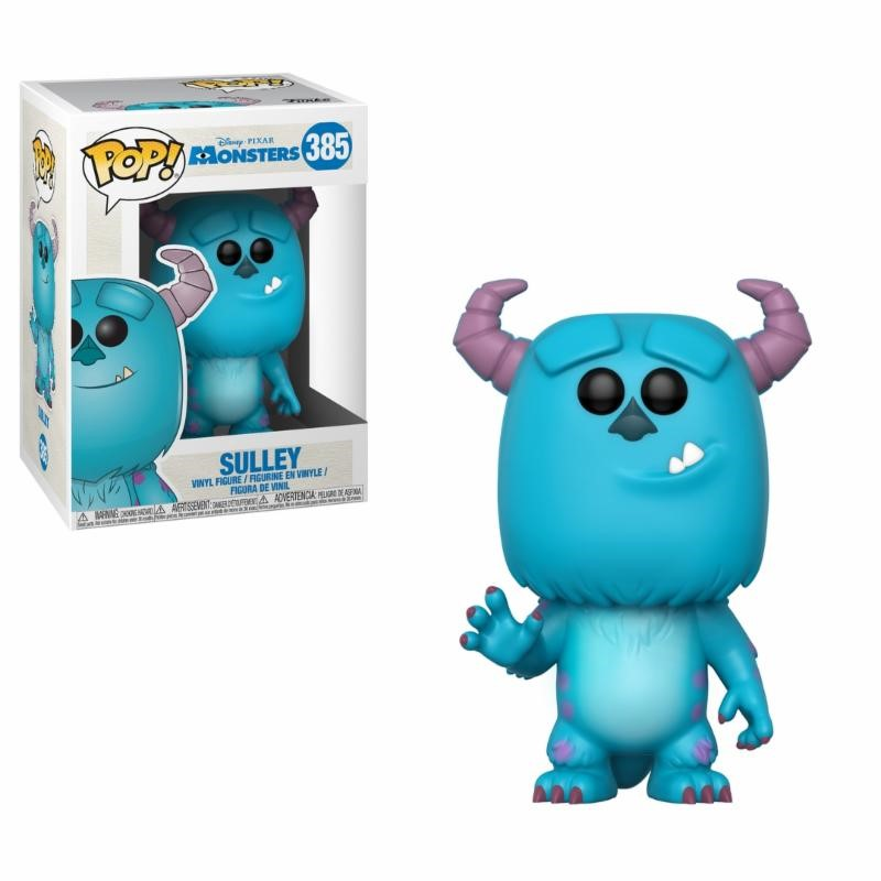 Pop! Disney: Monsters Inc. - Sulley Vinyl Figure 10 cm