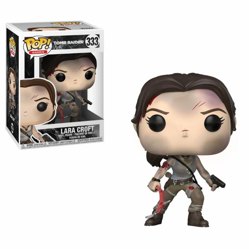 Pop! Games: Tombraider - Lara Croft Vinyl Figure 10 cm
