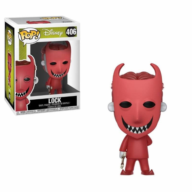 Pop! Disney: Nightmare before Christmas - Lock Vinyl Figure 10 cm
