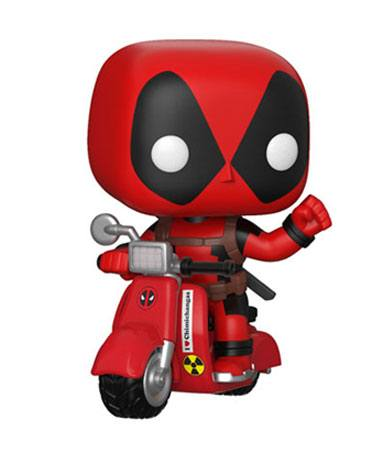 Deadpool POP! Rides Vinyl Figure Deadpool & Scooter 15 cm