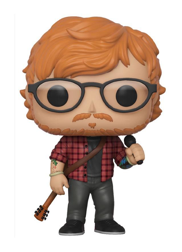 Ed Sheeran POP! Rocks Vinyl Figure Ed Sheeran 10 cm