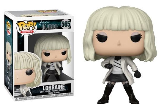 Atomic Blonde POP! Movies Vinyl Figures Lorraine 10 cm