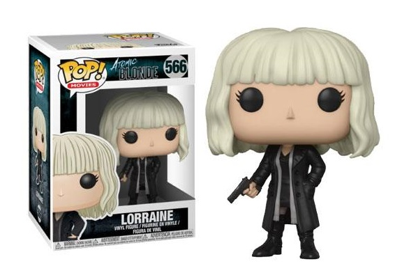 Atomic Blonde POP! Movies Vinyl Figures Lorraine Outfit 2 10 cm