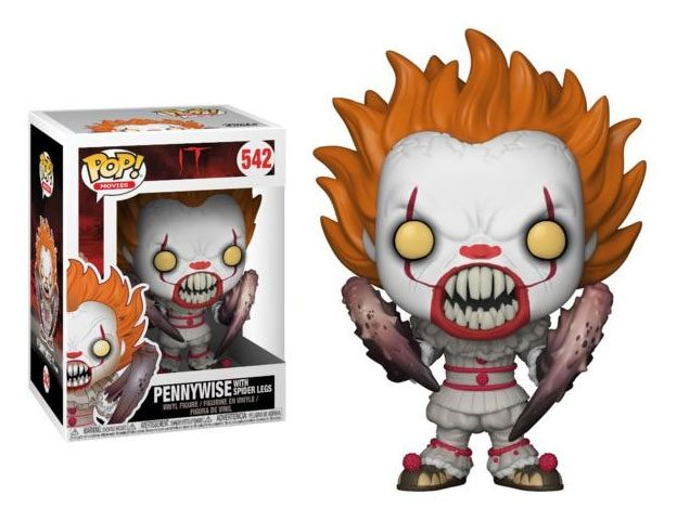 Stephen King's It 2017 POP! Movies Vinyl Figure Pennywise with Spider Legs