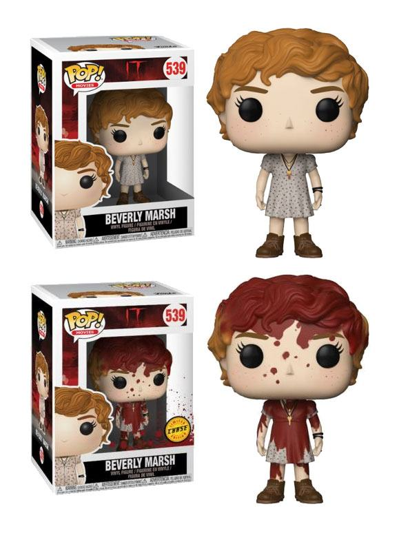 Stephen King's It 2017 POP! Movies Vinyl Figures Beverly Marsh + Chase