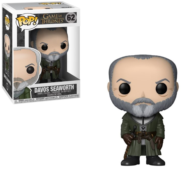 Pop! TV: Game of Thrones - Ser Davos Seaworth Vinyl Figure 10 cm