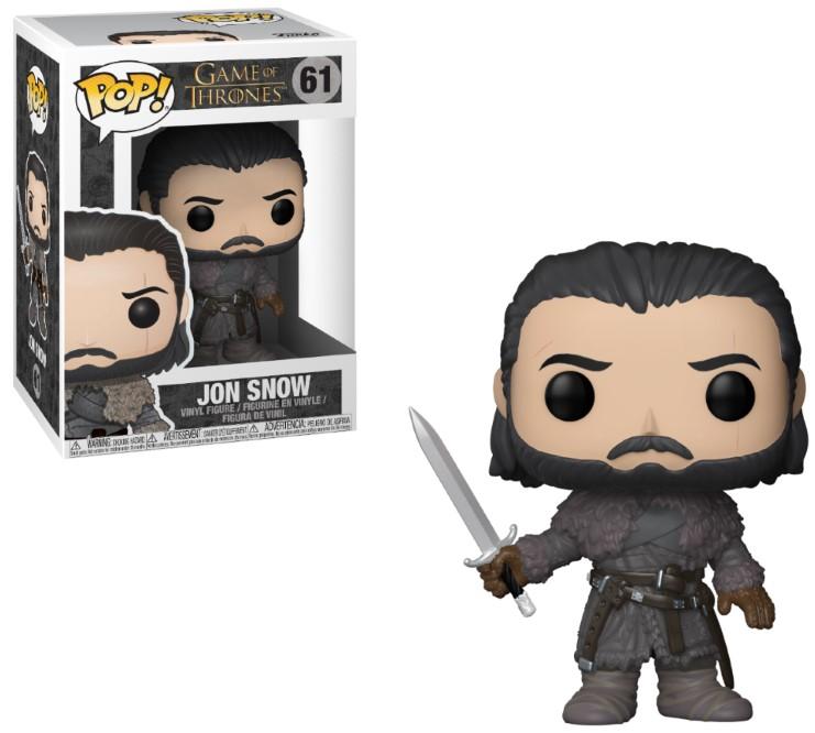 Pop! TV: Game of Thrones - Beyond the Wall Jon Snow Vinyl Figure 10 cm