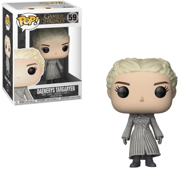 Pop! TV: Game of Thrones - White Coat Daenerys Vinyl Figure 10 cm