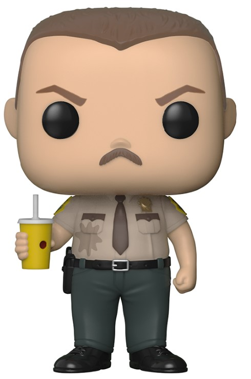 Pop! Movies: Super Troopers - Farva Vinyl Figure 10 cm