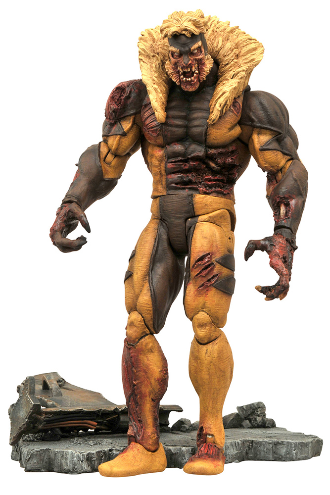 Marvel Comics Select Zombie Sabretooth Action Figure 20 cm